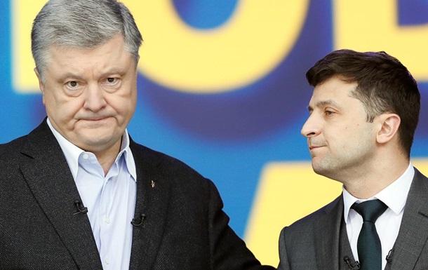 Зеленский своими руками садит Порошенко в президентское кресло