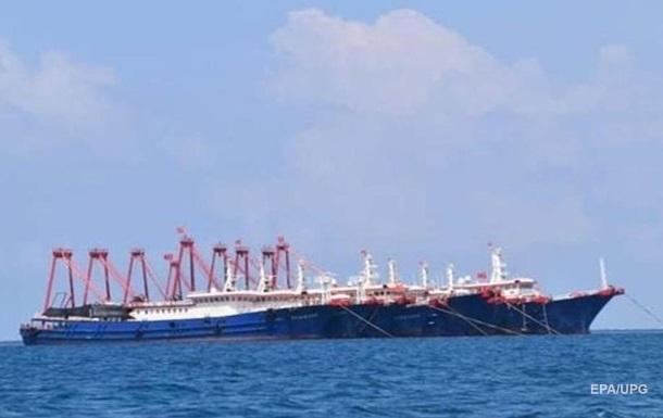 Филиппины заявили о вторжении сотен кораблей из Китая