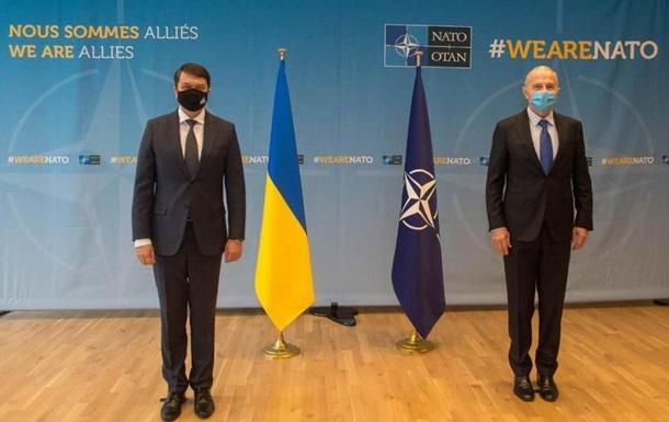 Разумков: Україна чекає плану щодо членства в НАТО