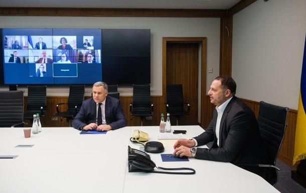 Єрмак обговорив з послами G7 Донбас і погром ОП