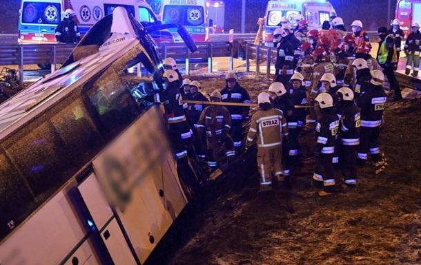 ДТП з українцями в Польщі: четверо постраждалих уже вдома