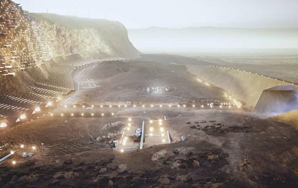 Архитекторы презентовали план мегаполиса на Марсе