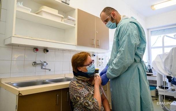 На вакцинацию записались 300 тысяч украинцев