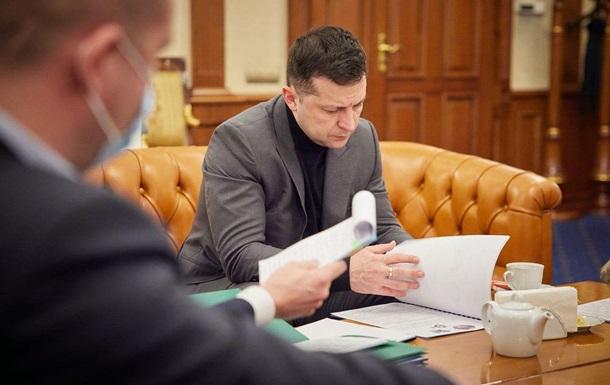 Зеленський підписав санкції проти громадян РФ