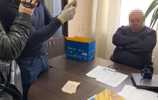 Начальника Управління Держагентства рибного господарства затримали на хабарі