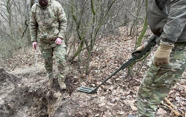 У задержанного сепаратиста СБУ нашла тайник оружия
