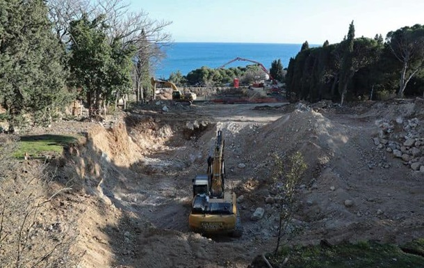 Прокуратура открыла производство из-за разрушения парка в Форосе