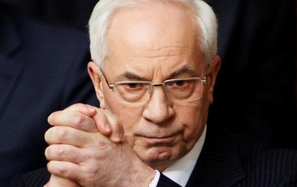 Азарову оголошено підозру за Харківські угоди