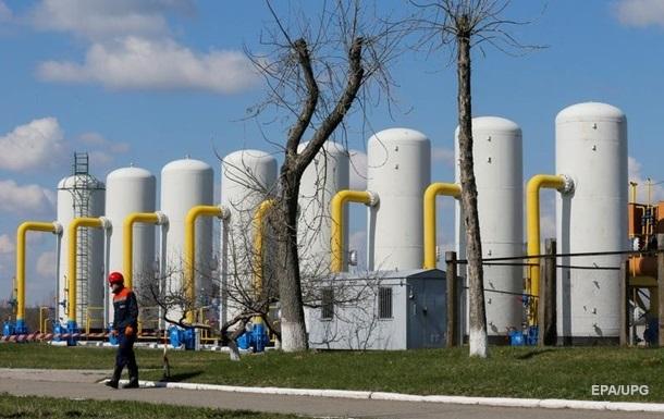 Украина сожгла газа вдвое больше, чем годом ранее