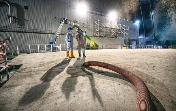 Чернобыльская АЭС переходит на особый режим работы