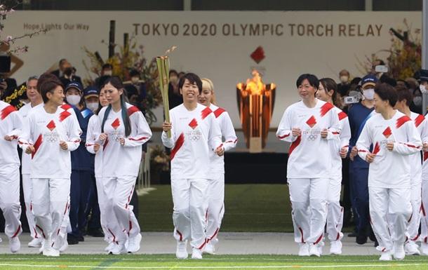 Факел з Олімпійським вогнем згаснув у перший день естафети