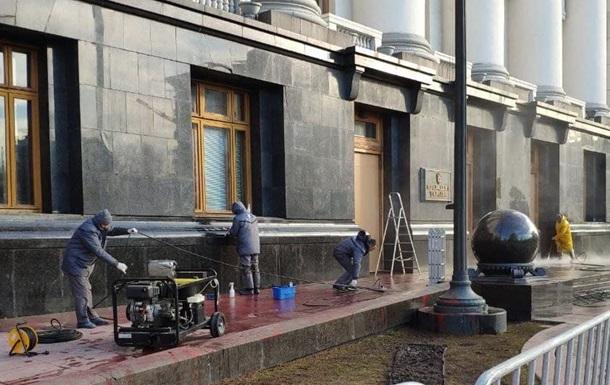 Очищення будівлі ОП добігає кінця