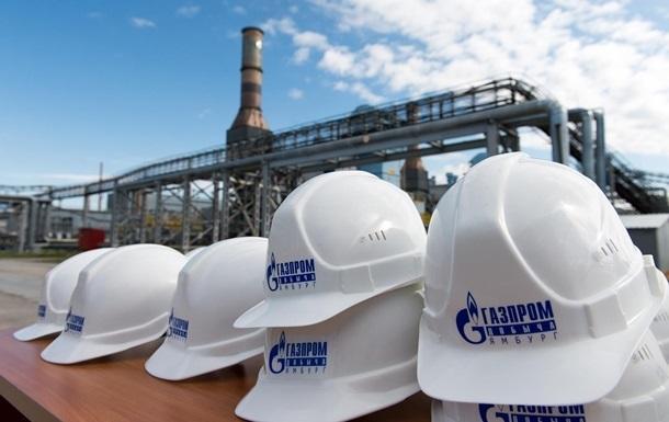 Газпром получил годичный убыток впервые с 1998