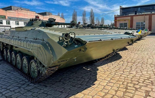 Відновлено 26 БМП, вилучені у польської компанії