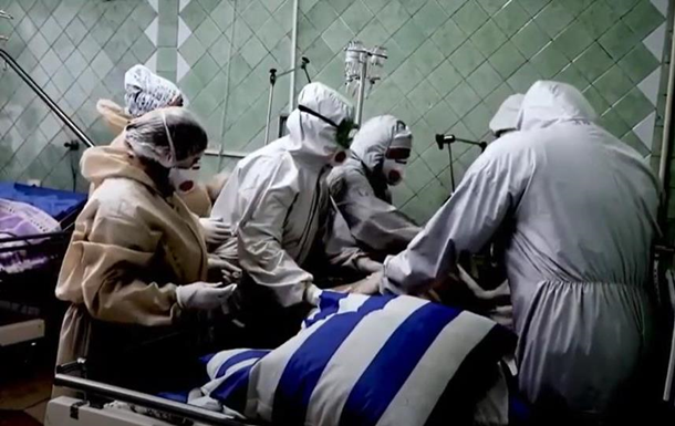Опубліковане відео з COVID-лікарень Миколаєва
