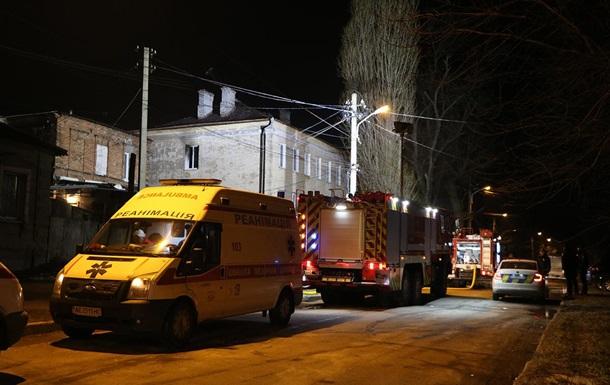 В Днепре при пожаре пострадало два человека