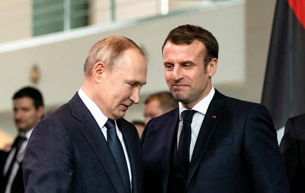 МИД о  нормандии : Макрон может убедить Путина