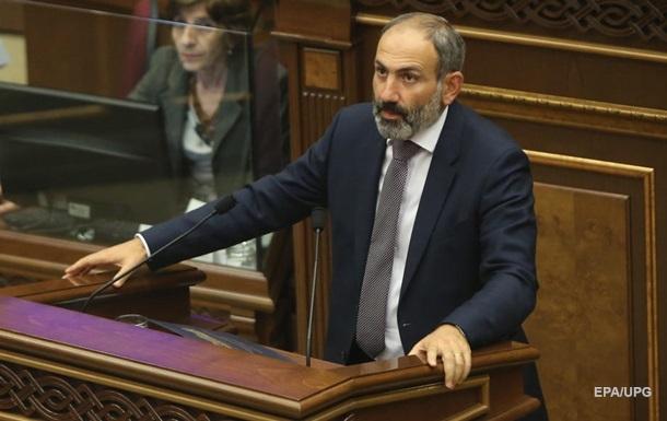 Прем єр Вірменії Пашинян піде у відставку в квітні