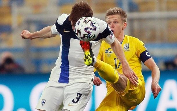 Украина упустила победу над Финляндией, доигрывая матч в меньшинстве
