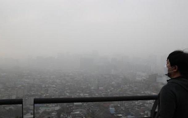 В Японії і Кореї пронеслася піщана буря
