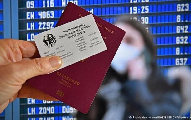 Зеленський пропонує ввести паспорти вакцинації