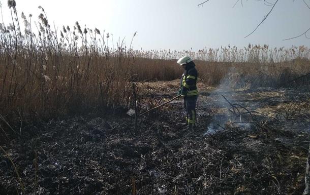 У Київській області за вихідні вигоріло 330 гектарів