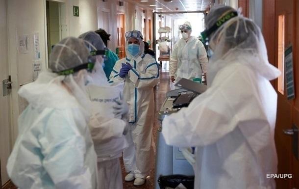 В Україні від коронавірусу померли майже 550 медиків