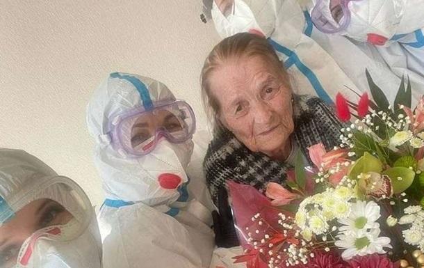 100-летняя украинка вылечилась от COVID-19