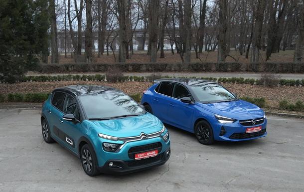 Новые Citroen С3 и Opel Corsa. Cравнение малышей