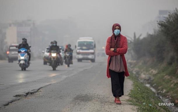 Столицу Непала окутал рекордный смог