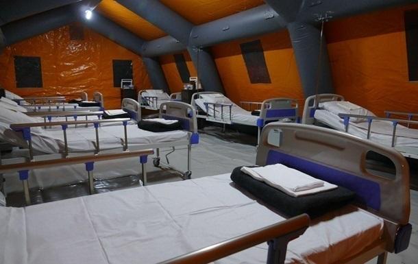В Хмельницкой области развернут мобильный COVID-госпиталь