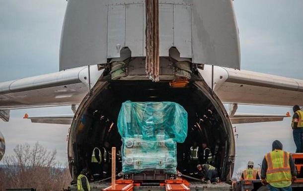 Авіалінії Антонова доставили в США устаткування для COVID-вакцин