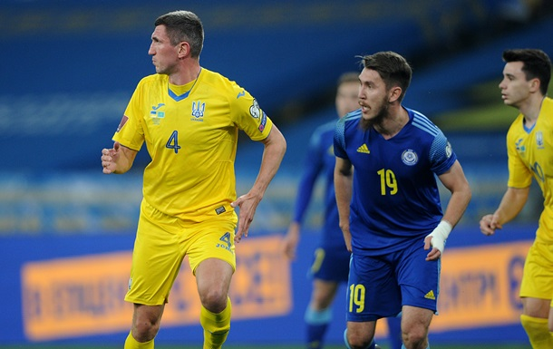 Україна не зуміла обіграти Казахстан у відборі на ЧС-2022