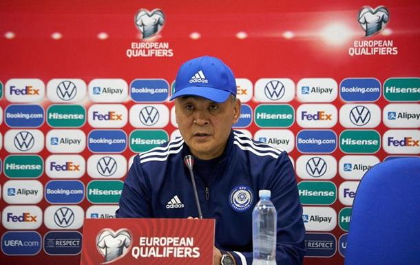 Тренер збірної Казахстану: У другому таймі ми довели, що за бажання можна змінити все
