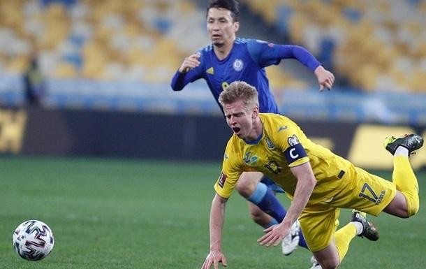 Зінченко - найкращий гравець матчу України з Казахстаном за версією WhoScored