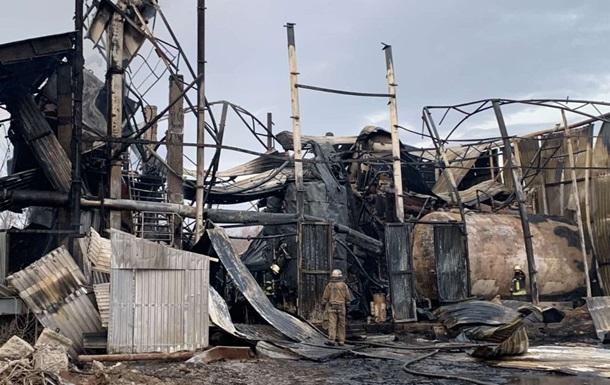 У Харкові під час пожежі на підприємстві загинув чоловік