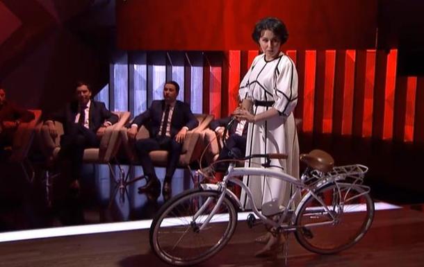 Велосипед Голобородько привезли в эфир ток-шоу