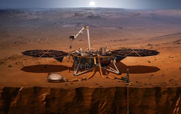 Зонд NASA зафиксировал два сильных марсотрясения