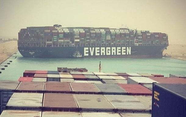 На Суэце рассказали об опасном маневре судна Ever Given
