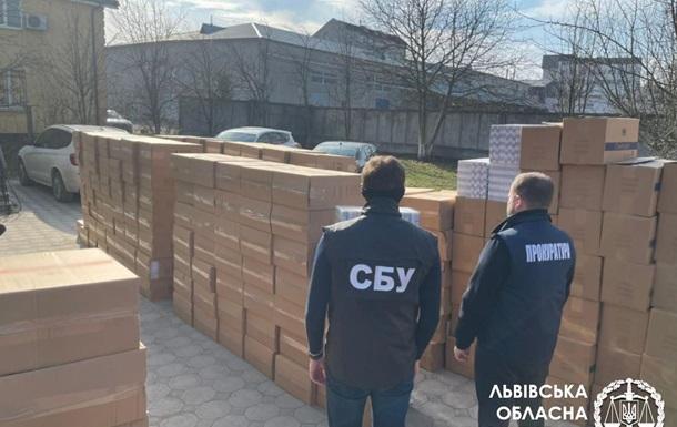 На Львовщине изъяли контрафактные сигареты на сумму 18 миллионов гривен