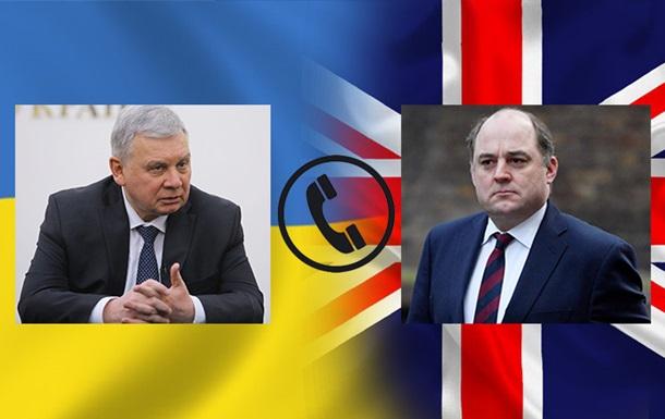 Таран розповів британцям про загрозу від Росії