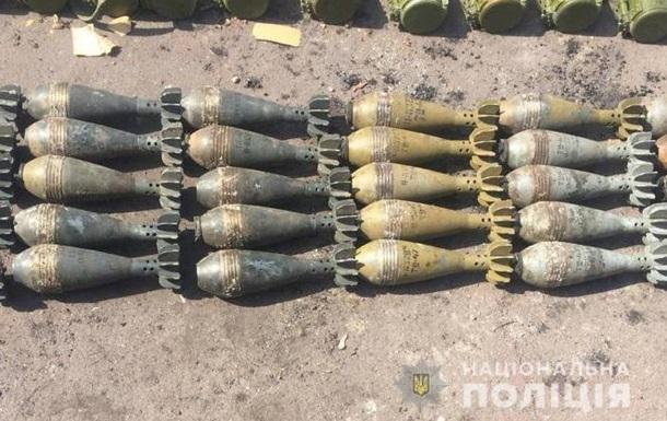 У Маріуполі правоохоронці виявили склад боєприпасів