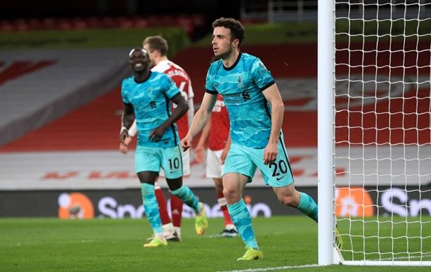 Ліверпуль розгромив Арсенал і повернувся в боротьбу за зону ЛЧ