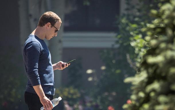 Хакеры слили номер телефона Цукерберга