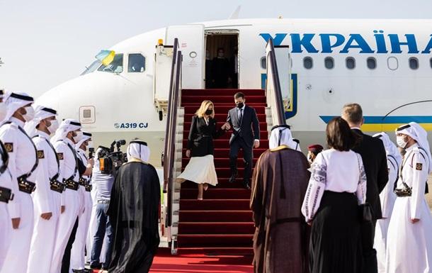 Зеленський прибув у Катар обговорювати експорт
