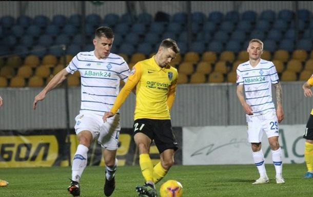 Поздний гол Родригеса принес Динамо победу над Александрией