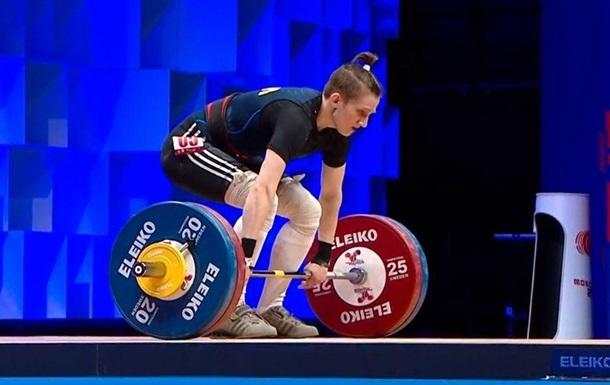 Українка Конотоп виграла золото ЧЄ з важкої атлетики
