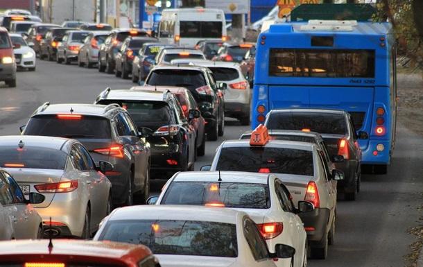 Пробки в Киеве 5 апреля 2021