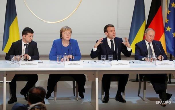 Зеленський переговорить з Меркель і Макроном - ЗМІ