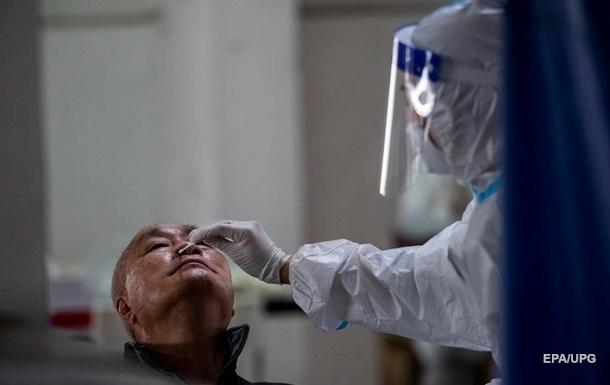 У Китаї рекордний за два місяці приріст коронавірусу